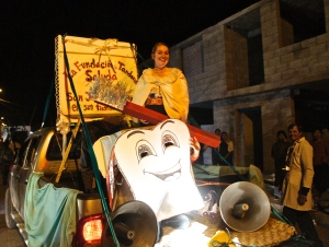 The Tandana float