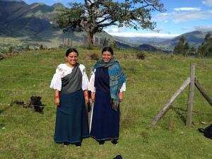 Margarita and her sister