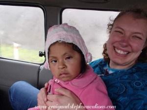 Stephanie y Shina después de la cirugía